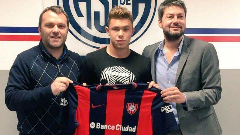 Tomás Conechny extendió su vínculo con San Lorenzo