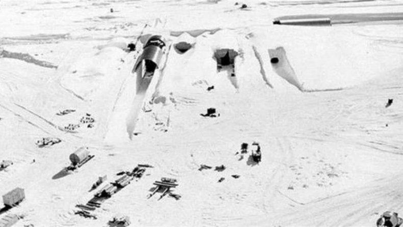 El calentamiento global descubre una base secreta de Estados Unidos en Groenlandia