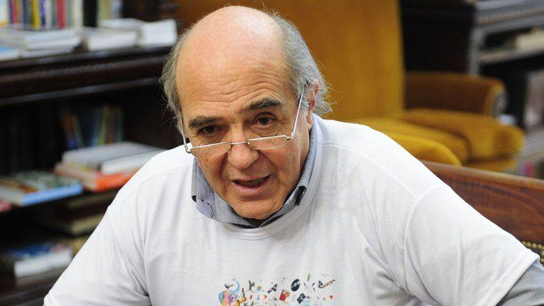 Leandro de Sagastizábal explica la nueva campaña de la Conabip Socios de la lectura.