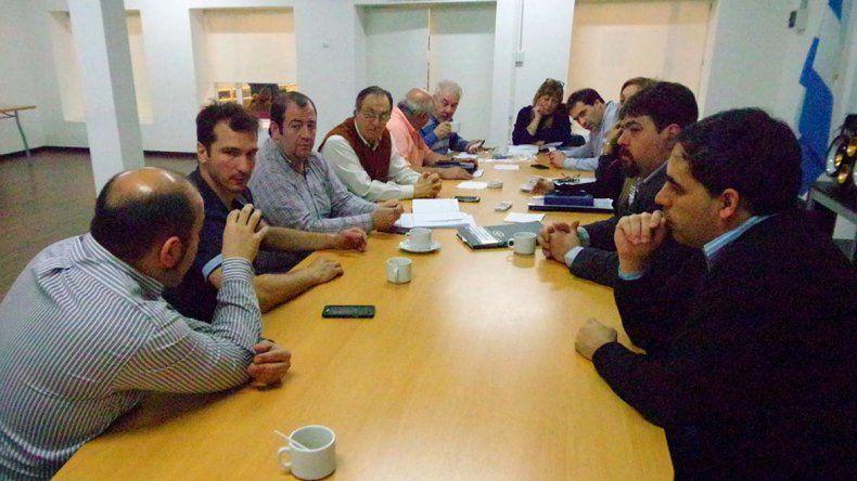 El encuentro que se desarrolló ayer en el Concejo Deliberante.