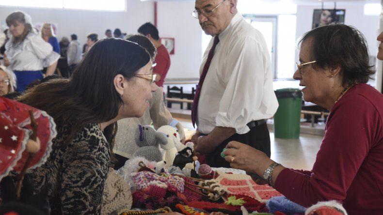 VI Encuentro Artístico Cultural de los jubilados. Foto: Mario Molaroni / El Patagónico.