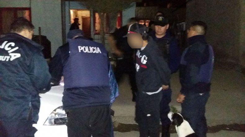 La policía detuvo a Maximiliano Narváez en su domicilio de la calle San Francisco de Asís al 1.300.
