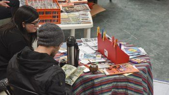 Archivo primer Fanzine Fest. Foto: Mario Molaroni / El Patagónico