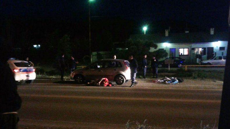 Encontraron el arma con la que le dispararon a un joven en Km 8