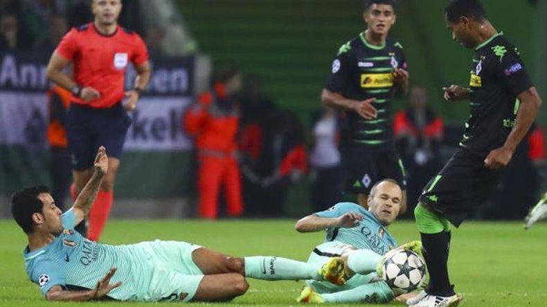 El Barcelona dio vuelta su partido contra el Monchengladbach