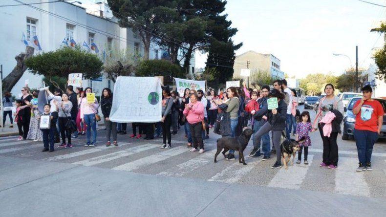 Proteccionistas se manifestaron nuevamente en el Concejo