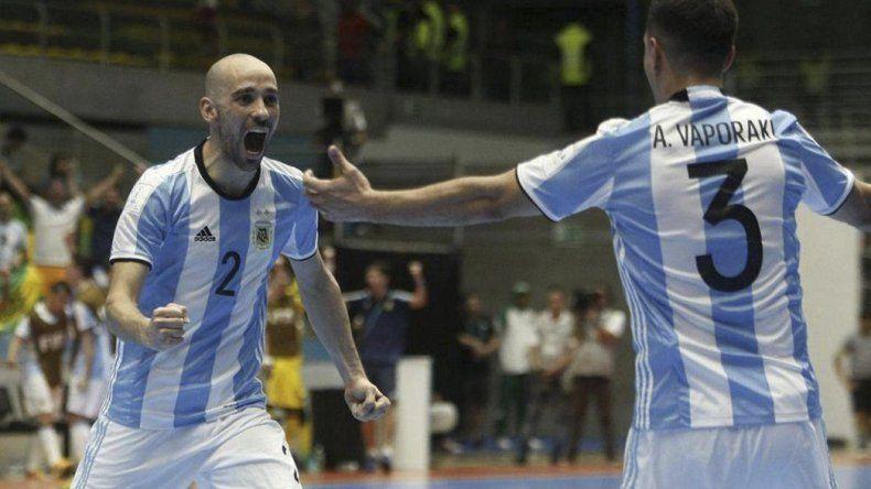 Argentina hizo historia al coronarse por primera vez campeón del mundo de fútbol de salón.