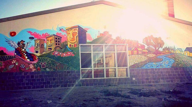 Murales territorio urbano volvió al ruedo con un espectacular mural