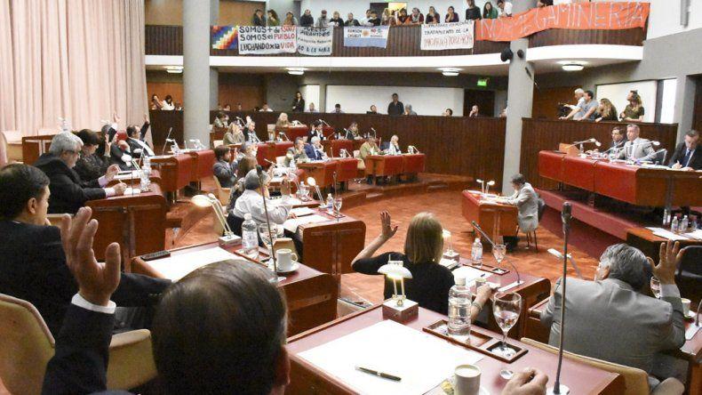 En la sesión de ayer se abordó la crisis de sectores laborales de Comodoro Rivadavia.