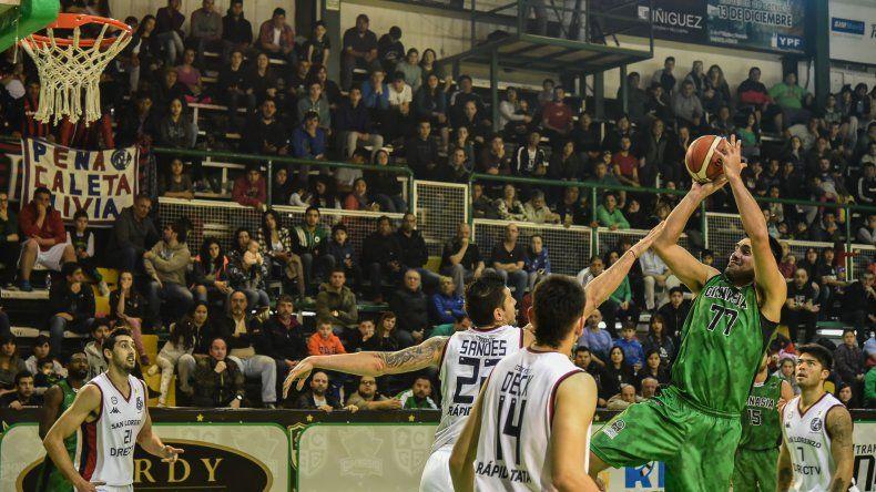 Gimnasia consiguió un gran triunfo de local ante San Lorenzo. Foto: Mauricio Macretti / El Patagónico.