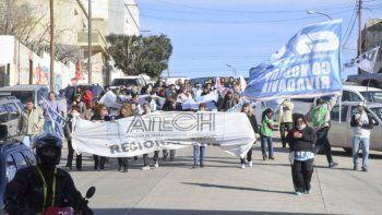 Los docentes de Chubut relanzan un plan de lucha