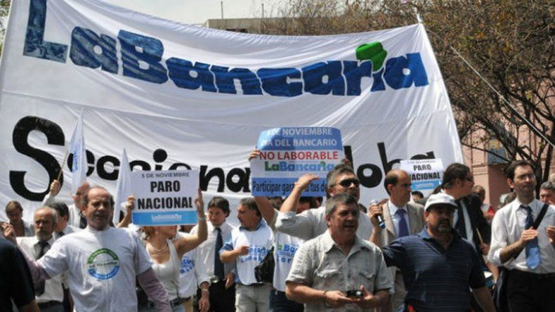 Bancarios anunciaron paro nacional el 28 de octubre