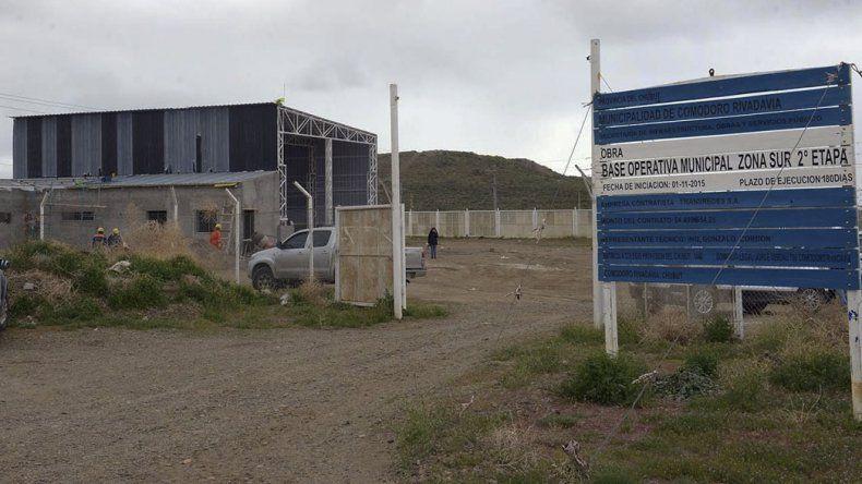 Los talleres se construyen en el barrio Industrial.