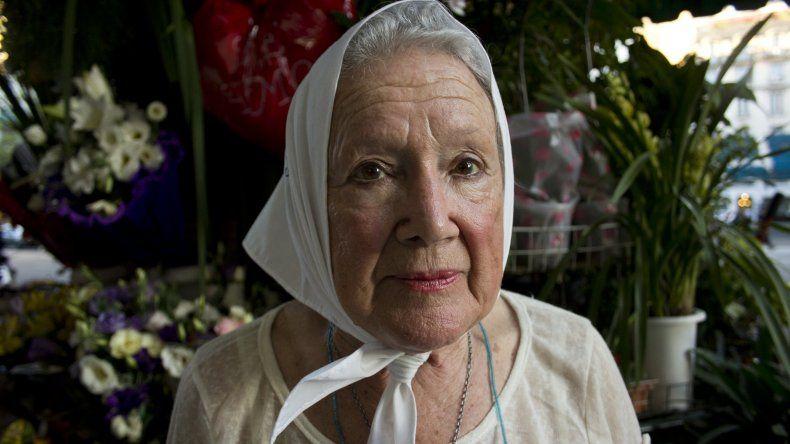 Nora Cortiñas llega a Rawson para acompañar a los estatales de Chubut