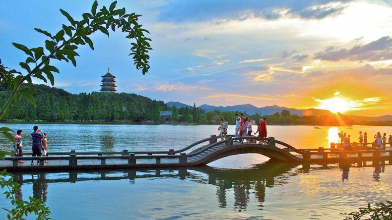 Hangzhou, el pequeño paraíso terrenal chino