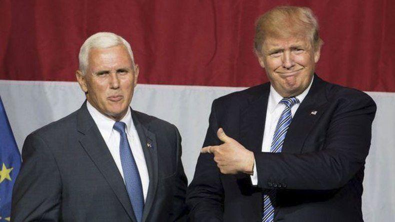 Buscan que Trump renuncie y deje su lugar a su candidato a vice