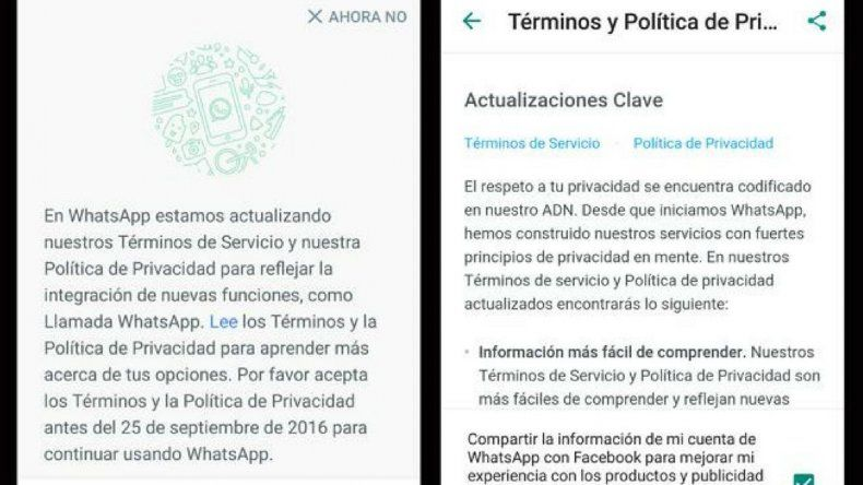 ¿Es legal que Facebook y Whatsapp compartan tus datos?