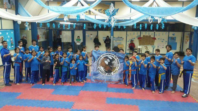 Las artes marciales tendrá una cita importante mañana en el gimnasio municipal 1 de Comodoro Rivadavia.