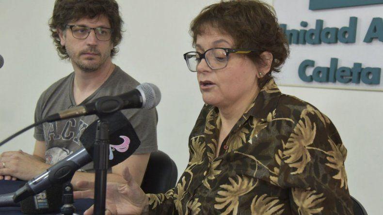 Patricia Sampaoli brindó detalles de las investigaciones. Estuvo acompañada por Mariano Stoichevich