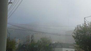 Transitar con precaución por la neblina y baja visibilidad