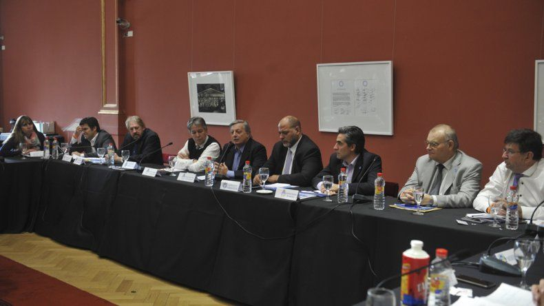 El ministro Juan José Aranguren encabezó el cierre del Consejo Federal de Minería.