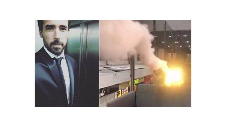 El chiste de mal gusto de Nacho Viale en un aeropuerto