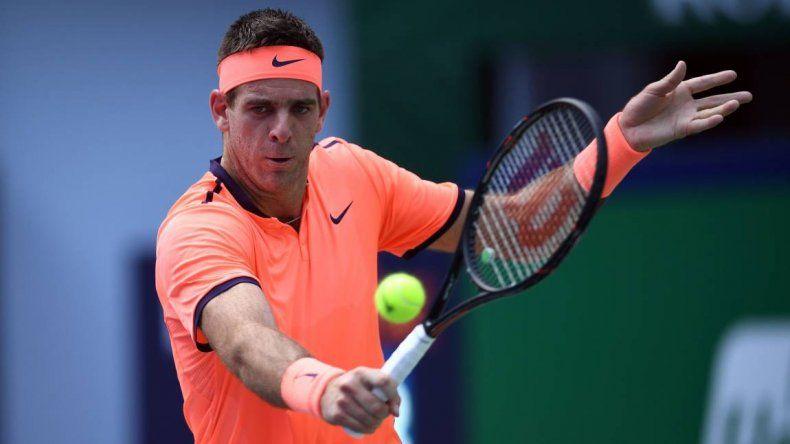 Del Potro avanzó a semifinales en el ATP de Estocolmo