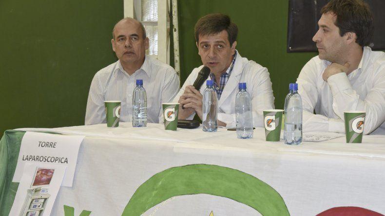 En el club Gimnasia y Esgrima se lanzó la tercera edición de Comodoro Solidario