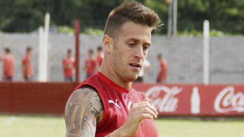 El Tanque Germán Denis será esta tarde titular en la formación de Independiente.