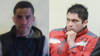 En la foto de la izquierda se observa la actual fisonomía de Lezcano. En la imagen de la derecha el aspecto que presentaba cuando fue condenado.