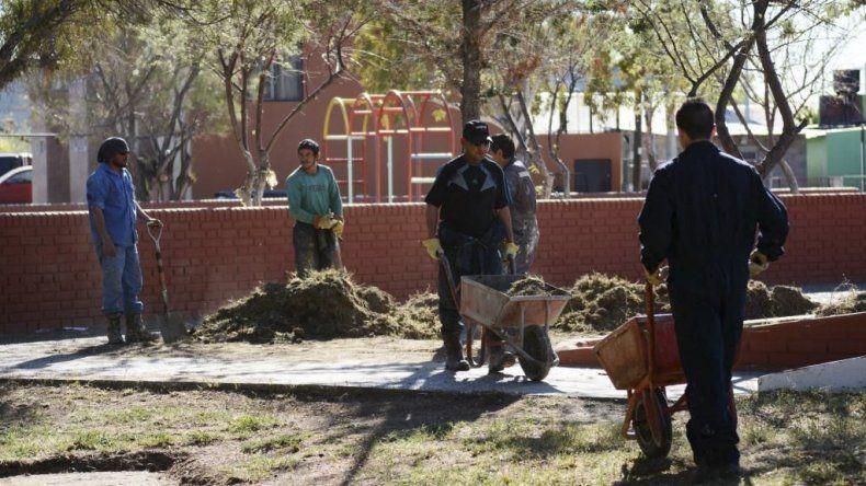 Además de la limpieza del Paseo Costero y del Paseo Aeróbico del Liceo  Militar