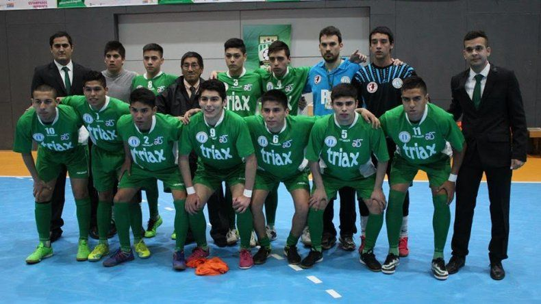 Comodoro Rivadavia cumplió un dignísimo papel en el Argentino Juvenil de fútbol de salón que se jugó en Ushuaia.a