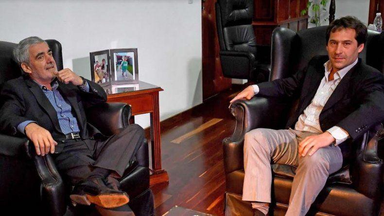 El gobernador recibió a Luque para hablar de seguridad, petróleo e inversiones