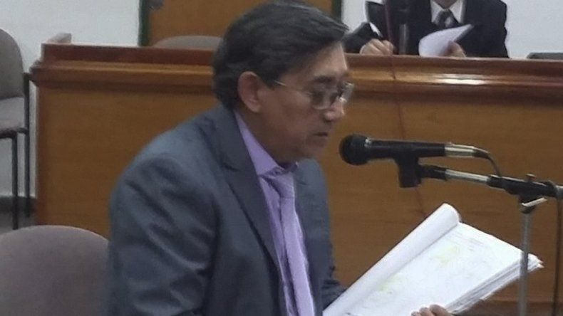 El médico forense Rubén Vera Maidana se desempeña actualmente como perito en el Poder Judicial.