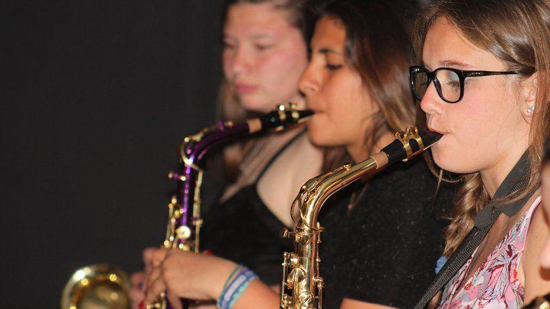 Hace cuatro años que el Rotary Club Rada Tilly tiene su propia Banda Infanto Juvenil.