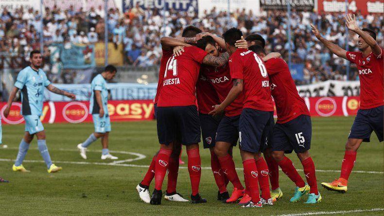 Independiente viene de conseguir un esforzado triunfo de 1-0 ante Temperley