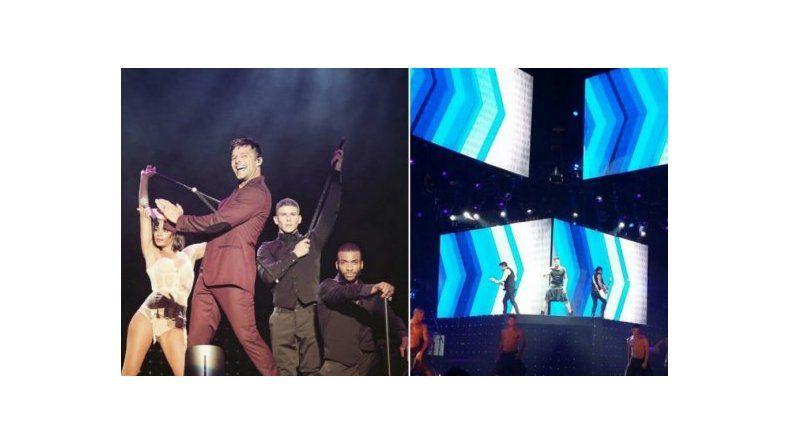 Ricky Martin comenzó su gira en Argentina