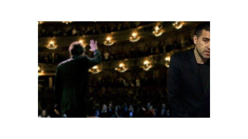 Riquelme fue a ver a Al Pacino con unos llamativos pantalones
