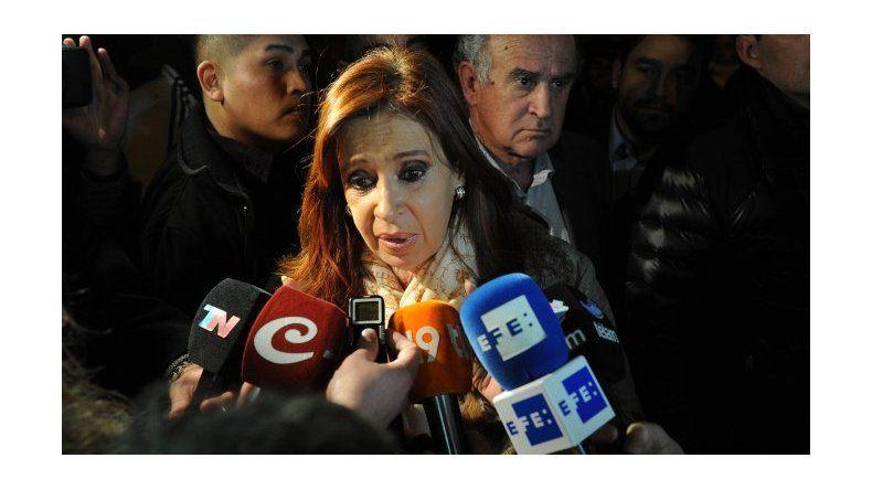 Cristina declarará verbalmente ante el juez Ercolini