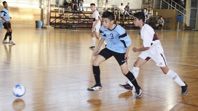 El futsal de la Asociación Promocional tuvo actividad en el gimnasio municipal 2.