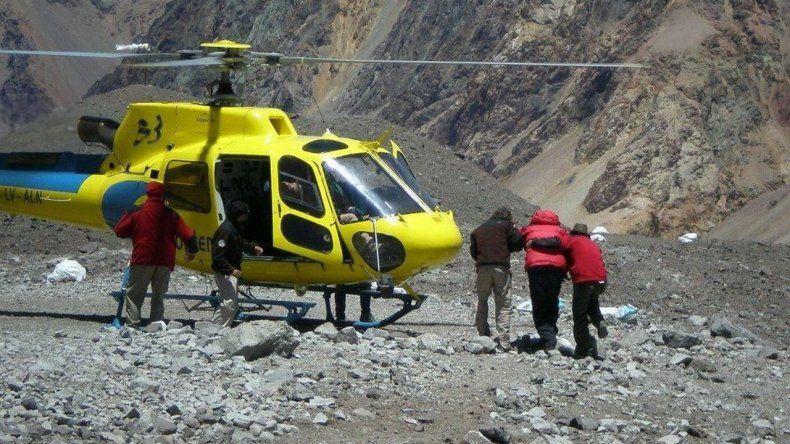 Andinistas deberán pagar para ser rescatados en el Aconcagua