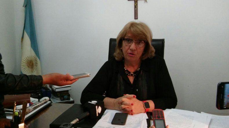 La juez federal Eva Parcio brindó este mediodía detalles de la investigación en una conferencia de prensa.