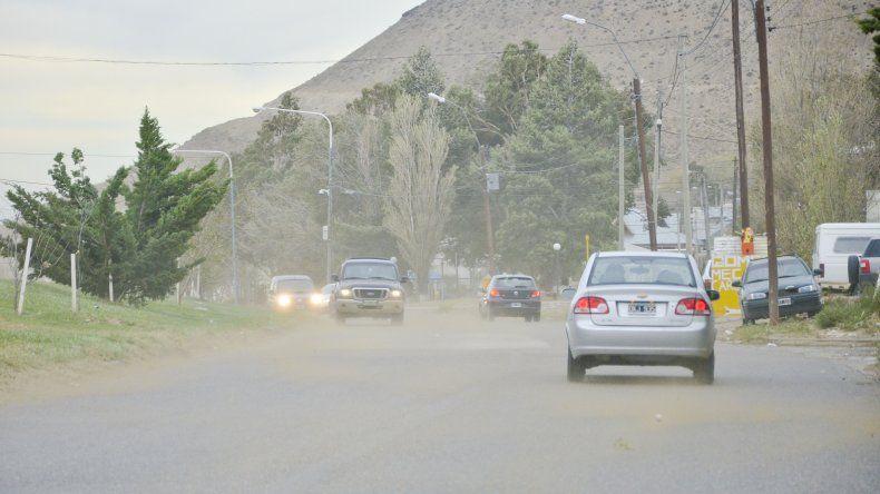 Otra vez un alerta meteorológico por vientos intensos afecta la zona