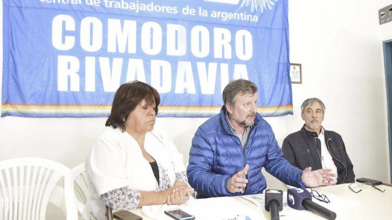 Las dos CTA se movilizan en Comodoro  Rivadavia contra el Pacto Social de Nación