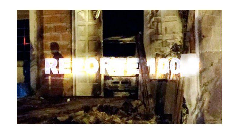 Incendiaron la casa del prefecto que mató a balazos a sus dos ex parejas