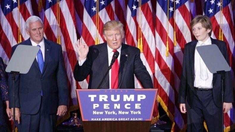 Trump y su primer discurso como presidente: voy a unificar el país