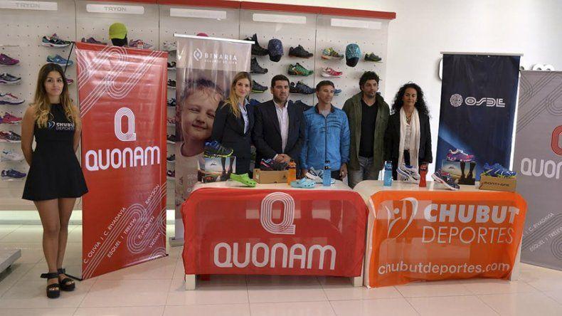 Se presentó en Trelew el  Desafío Quonam 2016