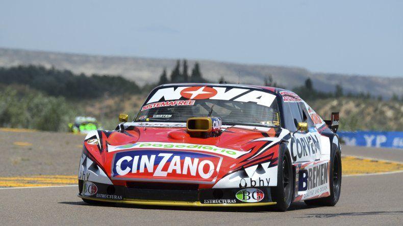 El Chevrolet de Matías Rossi que ayer dominó la primera clasificación del Turismo Carretera.