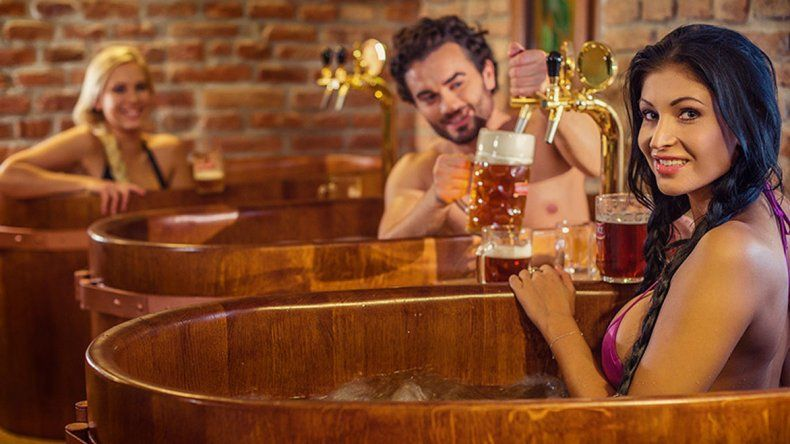 Abrió el primer spa de cerveza en México