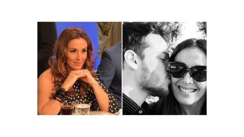 Viviana Saccone bromeó por su romance con el actor 25 años menor
